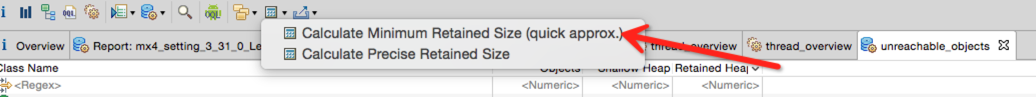 Calculate Retained Size