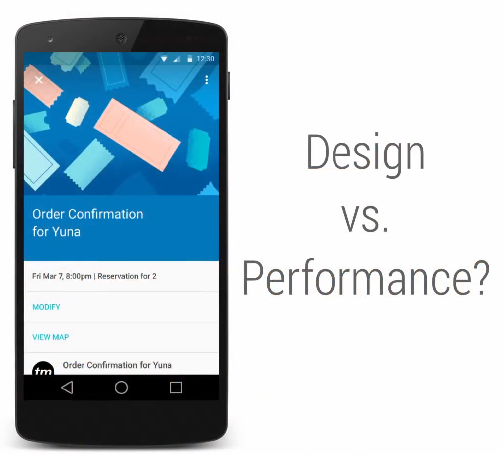 Design vs Performance